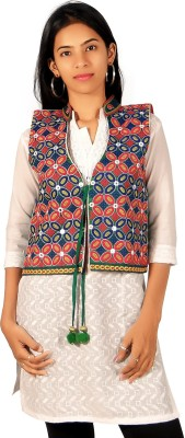 A33 Store Ethnic Embroidered Women's Waistcoat