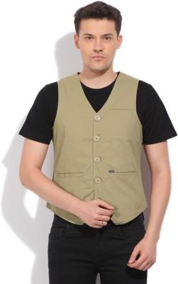 Pepe Jeans Solid Men's Waistcoat