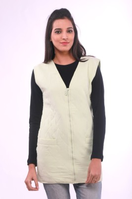 La Divyyu Solid Women's Waistcoat