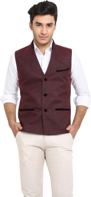 Protext Solid Men's Waistcoat