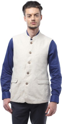Van Heusen Checkered Men's Waistcoat