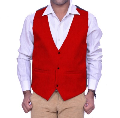 Rank Solid Men's Waistcoat