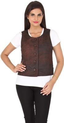 Kosher Solid Women's Waistcoat
