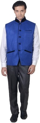 AKAAS Solid Men's Waistcoat