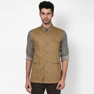 Hubberholme Solid Men's Waistcoat