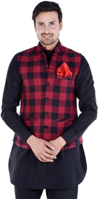 Forge Checkered Men's Waistcoat