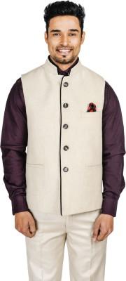 English Channel Solid Men's Waistcoat