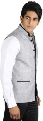 PSK Solid Men's Waistcoat