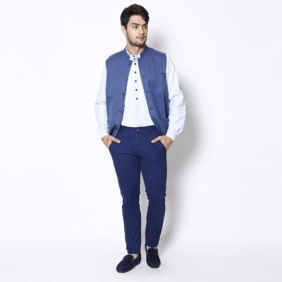 Even Self Design Men's Waistcoat