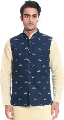 TAG 7 Young Printed Men's Waistcoat