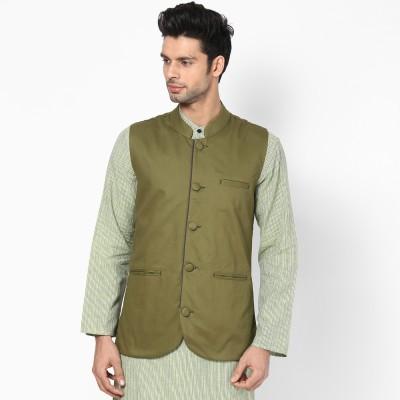 Haute Couture Solid Men's Waistcoat