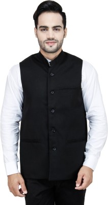 Stylox Solid Men's Waistcoat