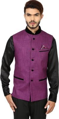 DesiDapper Style Grace Solid Men's Waistcoat