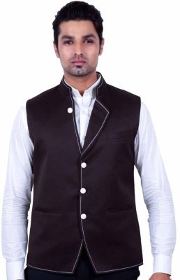Dresscode Solid Men's Waistcoat