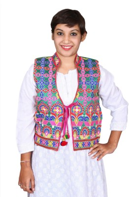 Kajci Embroidered Women's Waistcoat