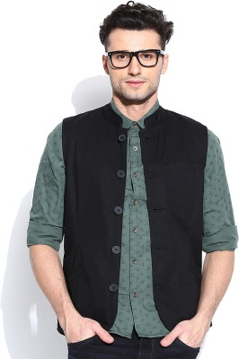 United Colors of Benetton Solid Men's Waistcoat