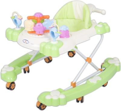HLX-NMC 2 In 1 Baby Walker Cum Rocker Green