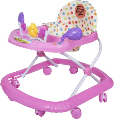 EZ, PLAYMATES BABY WALKER DARK PINK