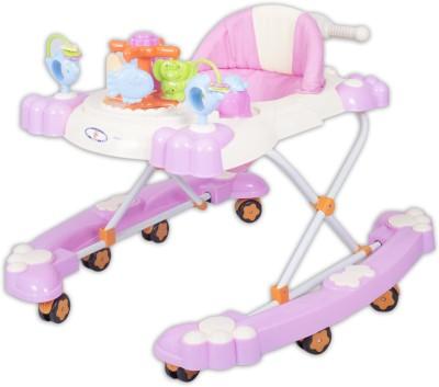 HLX-NMC 2 In 1 Baby Walker Cum Rocker Pink