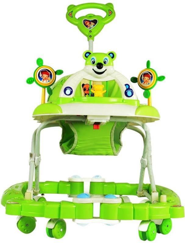 Panda Creation Walker & Rocker(Green)