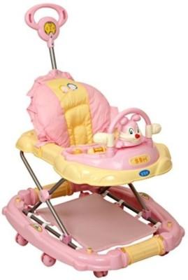 Baby Bucket Musical Baby Walker Cum Rocker With Toy Rabbit