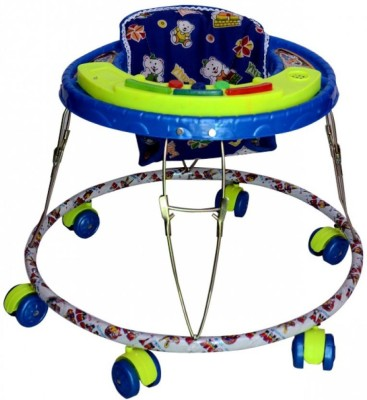 Kusum Enterprises Blue Musical Tiger Baby Walker