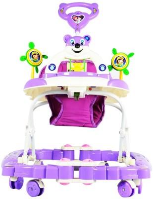 Taneja Enterprises Panda Walker Rocking Purple