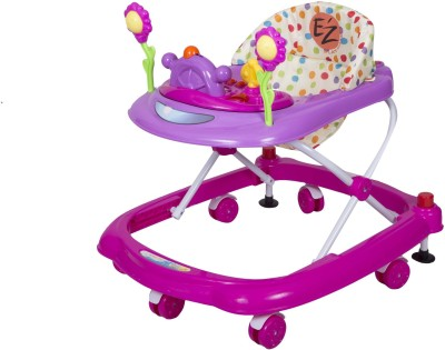 EZ, PLAYMATES HAPPY BABY WALKER PINK/PURPLE
