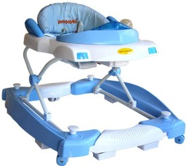 Born Babies Walker & Rocker(Blue)