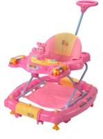 Mee Mee 2-in-1 Walker With Parent Rod(Pink)