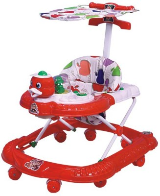 Panda Yours Shop Multi Colour Walker-Red