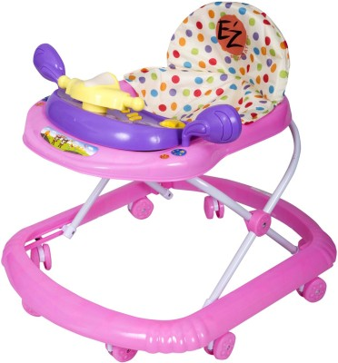 EZ, PLAYMATES FUN BABY WALKER PINK