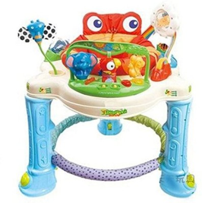 Baby Bucket Rainforest Jumperoo sapo jump Musical baby balance first baby step