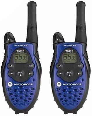 Eye Vision Motorola Talkabout T5720 Two-Way Walkie Talkie(Blue/Black)