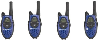 Motorola Talkabout four way T5720 With Battery Charger Walkie Talkie(Blue)