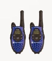 DE Motorola Talkabout T5720 Walkie Talkie(Blue, Black)