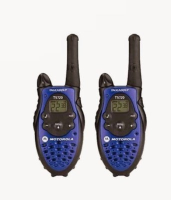 DE Motorola Talkabout T5720 Walkie Talkie(Blue, Black)