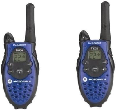 DE Motorola Talkabout T5720 Motorola Talk About T5720 Walkie Talkie(Blue, Black)