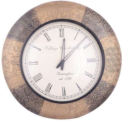 Sheela's Arts&Crafts Analog Wall Clock