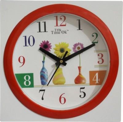 TOK TIME OK Analog Wall Clock