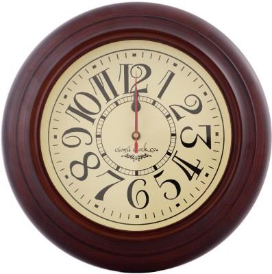 Indigocart Analog 28 cm Dia Wall Clock