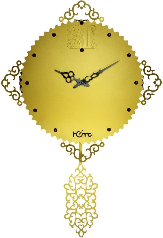 Home Analog Wall Clock Antique Alluminium Laureate Kite