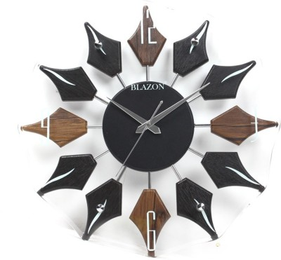 Blazon Analog 40 cm Dia Wall Clock