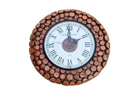 COLONIAI CLOCK CO. Analog Wall Clock
