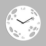Creative Width Decor Analog Wall Clock (...