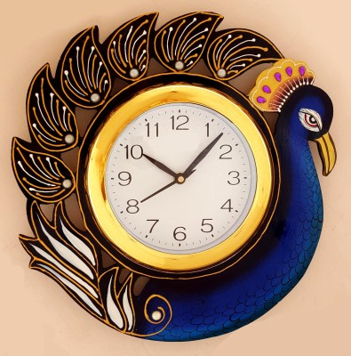 Divinecrafts Analog 30 cm Dia Wall Clock