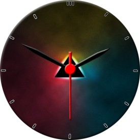 IIK Collection Analog Wall Clock(Multicolor, Without Glass)