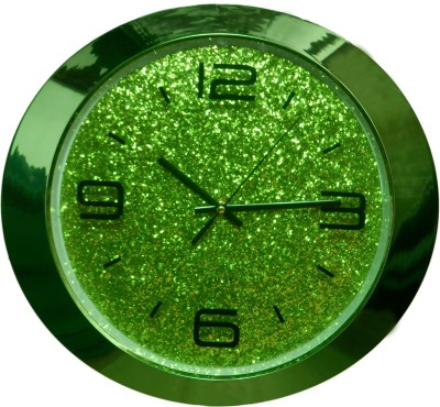 Wallace 2155-Green Designer Analog Wall Clock