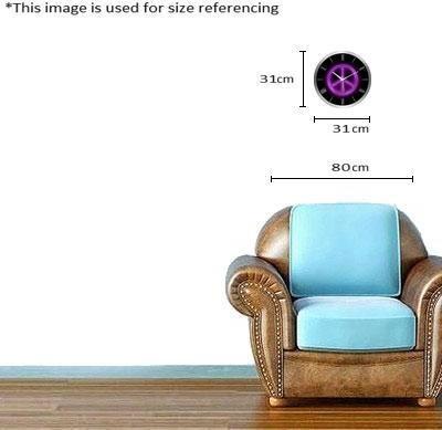 Regent Analog 31 cm Dia Wall Clock