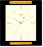Sinarquartz Analog Wall Clock (Wodden Co...